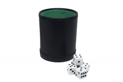 Fat Cat 55 0100 Dice Cup and Dice Main