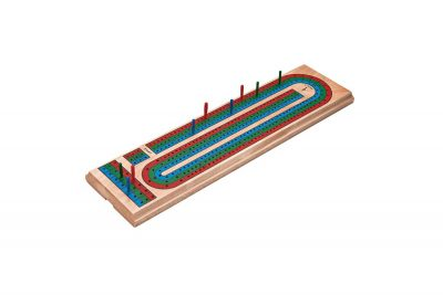 Mainstreet 55 0106 Traditional Cribbage Board Angled