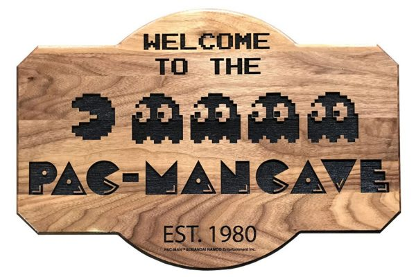 PacMan-Cave sign