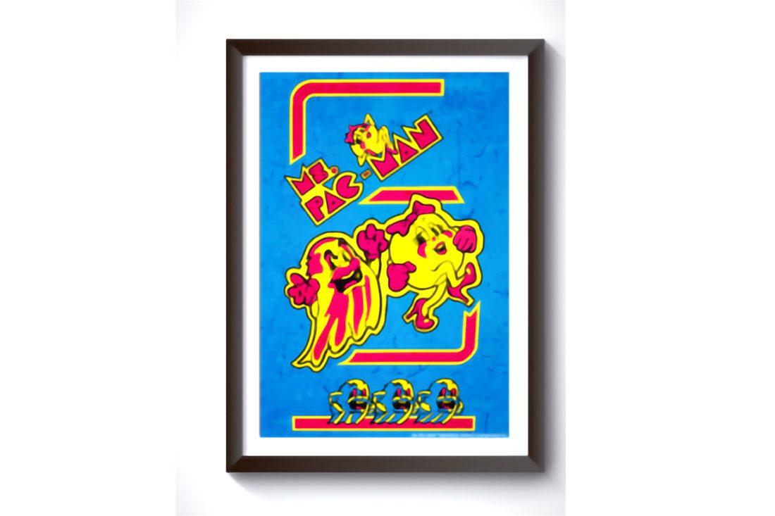Ms Pac Man Wall Art