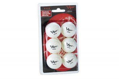 V 70 1010 3 Star Table Tennis Balls Package