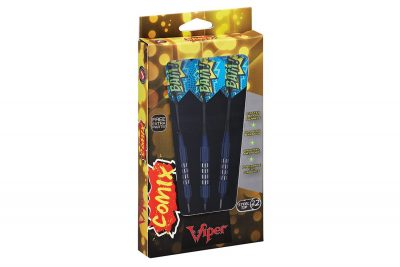Viper 22 1502 22 Comix Bam Steel Tip Darts Package
