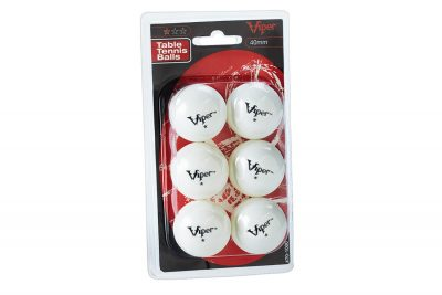 Viper 70 1000 1 Star Table Tennis Balls Package